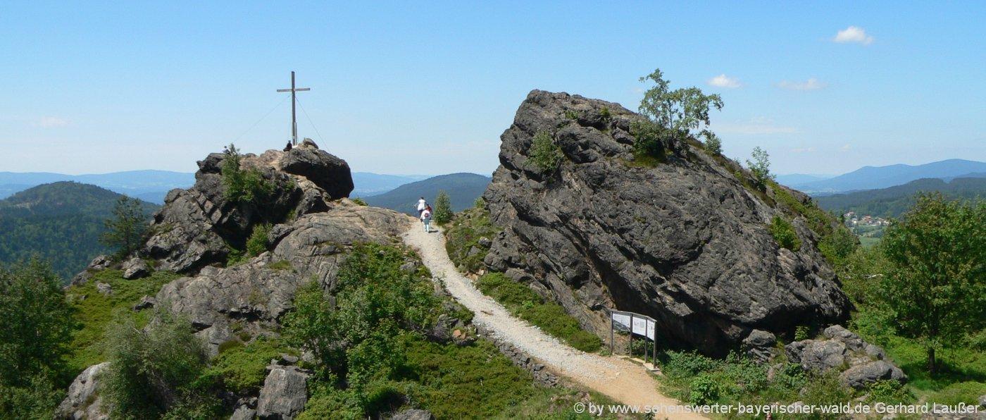 Familienurlaub in Bodenmais Wandern für Familien mit Kindern am Silberberg